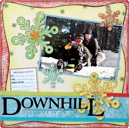 Downhill-delivery