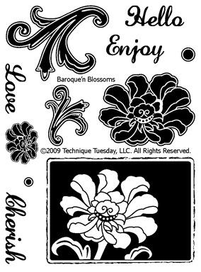 Baroque'n-Blossoms