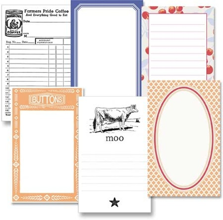 Farmer's Wife Journaling Cards