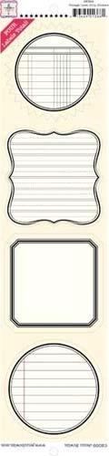 Label Strip Stickers - Vintage