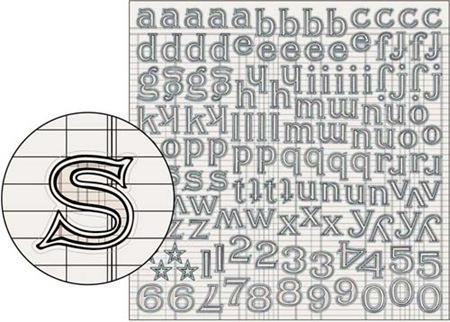 Large Alpha Stickers - Ledger