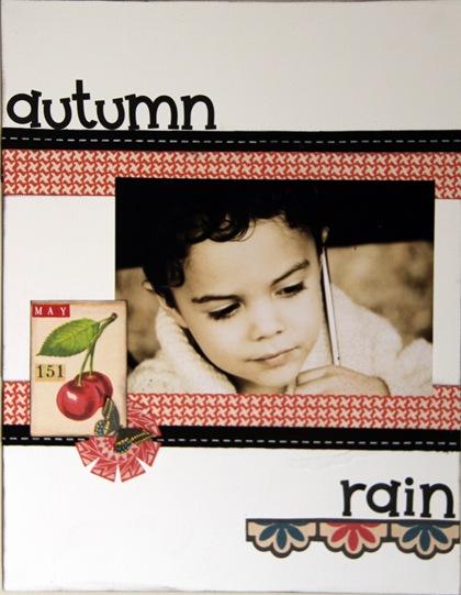 Sketch 158 Sherry - Autumn rain