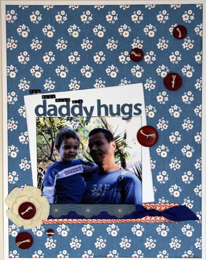 Sketch 170 Sherry - Daddy hugs