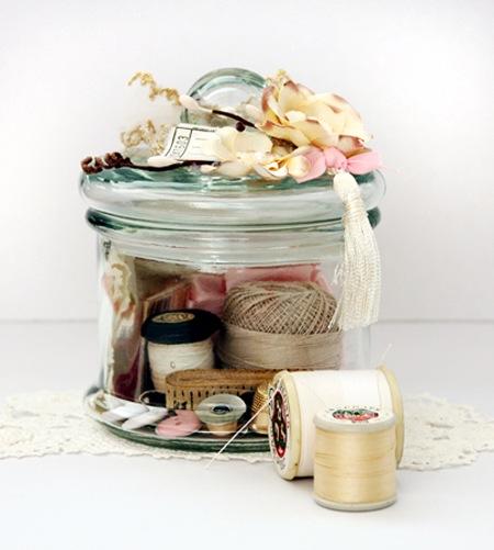 Printers Tray & Memory Jar - Kathie 5