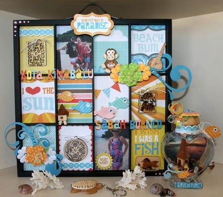 Chris - Artist Tray and Memory Jar