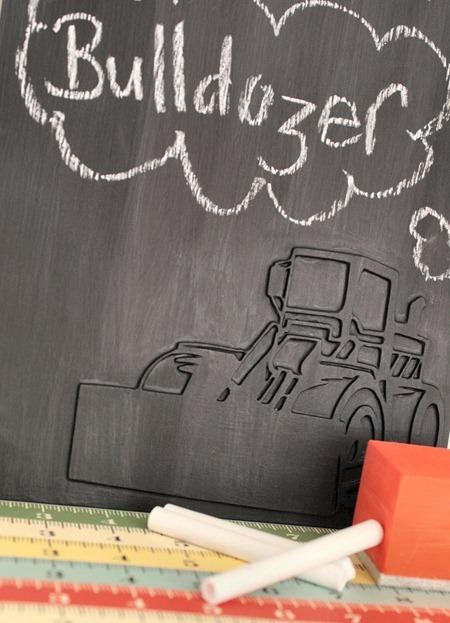 handmade boys - chalkboard D1 - leeann p