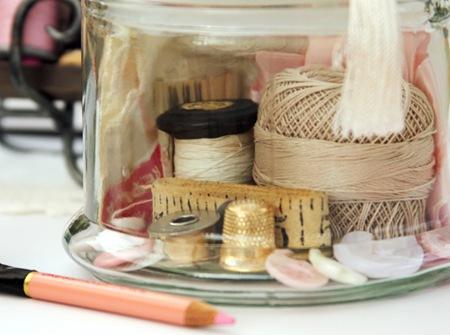 Printers Tray & Memory Jar - Kathie 6