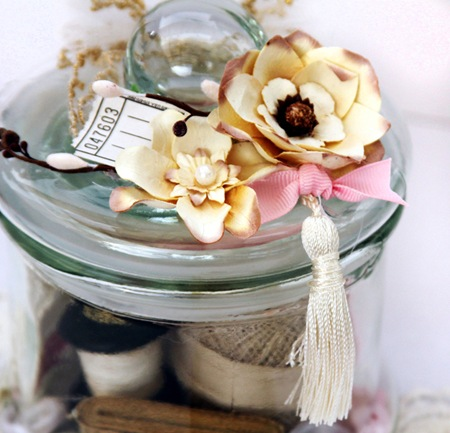 Printers Tray & Memory Jar - Kathie 7