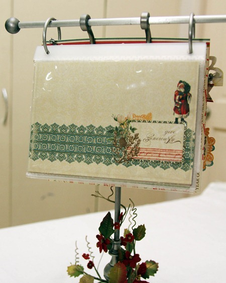 Christmas Table Annual Photo Holder d3 - Iris Uy