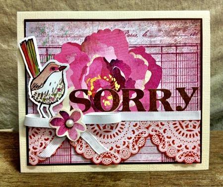 Sorry Card - JC