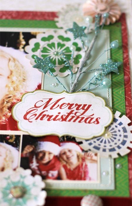 Christmas Layout - Sue Tonga.