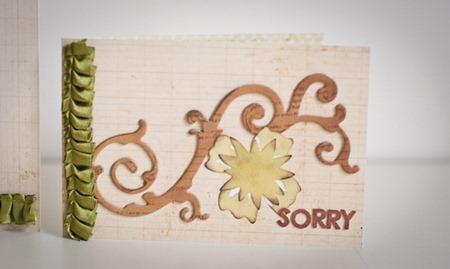 card sorry sd01