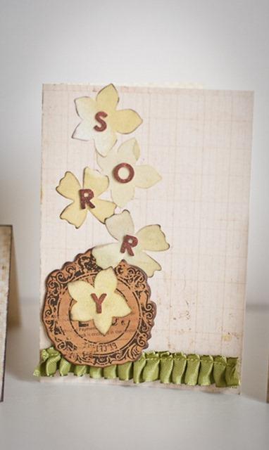 card sorry sd02