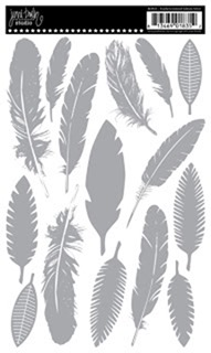 RO835-Feathers Silver