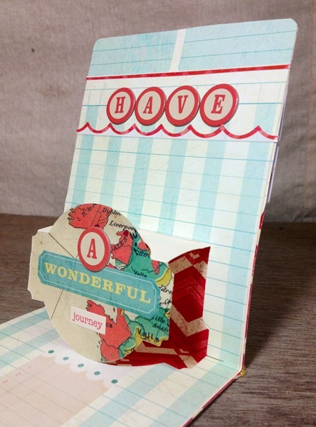 Sizzix Pop up card 2 close up - JC