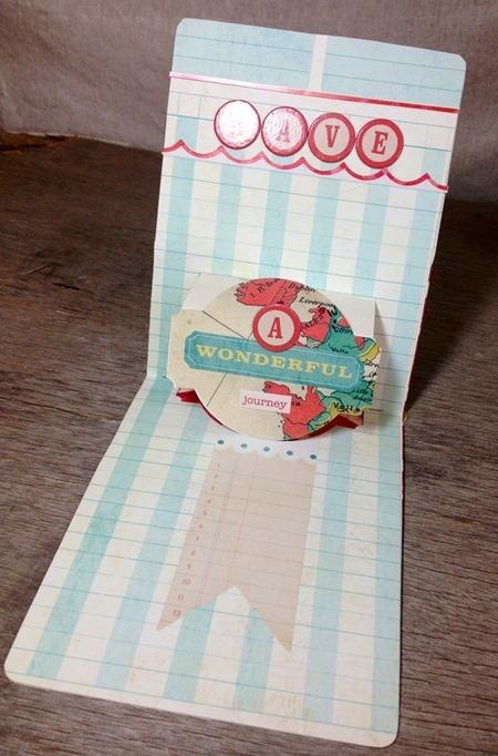 Sizzix Pop up card 2 inside - JC