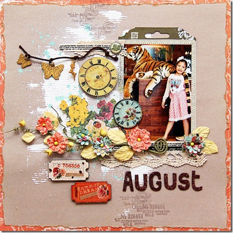 Calendar August Iris 1