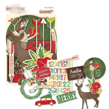 glitzdesign hello december WN0892