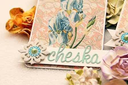 WEDDING Iris Place Cards d2