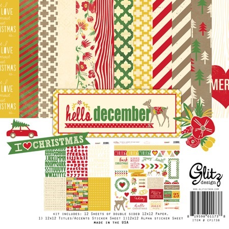 glitzdesign hello december CP1738