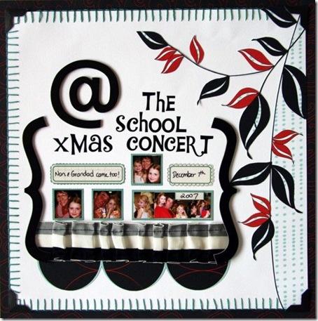 @ the school xmas concert