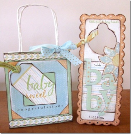 Crate Paper baby items