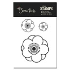 SRA735 A Charlotte Flower stamp