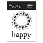 SRA740 A Happy stamp