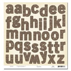 SRD789 Sonoma Alphabet Die Cut