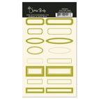 SRS903 olive date labels