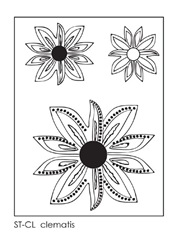 clematis-stamps