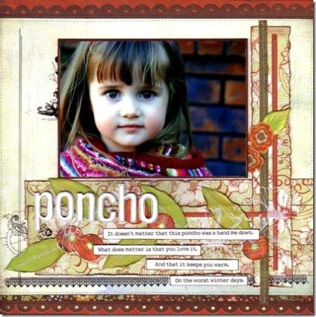 poncho small