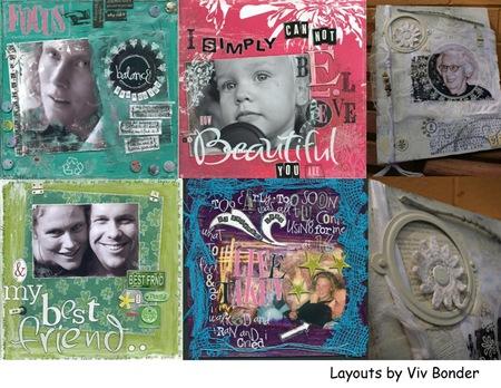 viv bonder collage